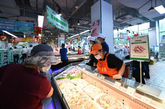 China reports record-high meat imports in Jan.-Sept.